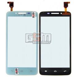 Тачскрин для Huawei Ascend Y511-U30 Dual Sim, белый