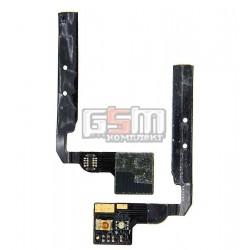 Шлейф для HTC G12, S510e Desire S, кнопок звука, датчика приближения, с компонентами