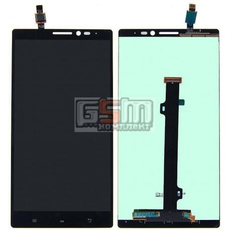 Дисплей для Lenovo K920 Vibe Z2 Pro, черный, с сенсорным экраном (дисплейный модуль)