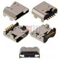 Коннектор зарядки для LG P895 Optimus Vu, T370, T375, V400, 5 pin, micro-USB тип-B