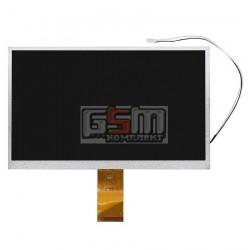 """Экран (дисплей, монитор, LCD) для китайского планшета 10.1"""", 60 pin, с маркировкой H-C101D-18C, 73002013941B, 73002001242С, 101A"""