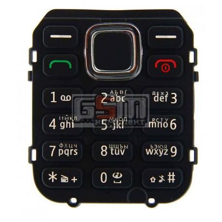 Клавиатура для Nokia C1-02, черный, русская