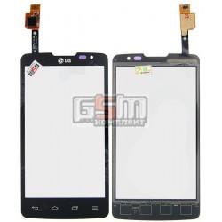 Тачскрин для LG X135 L60i Dual, X145 L60 Dual, черный