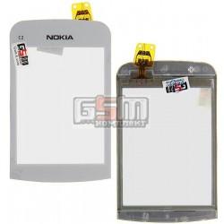 Тачскрин для Nokia C2-02, C2-03, C2-06, C2-07, C2-08, копия, белый