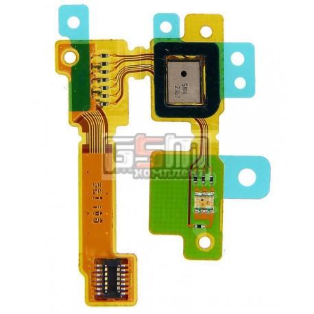 Шлейф для Sony C6802 XL39h Xperia Z Ultra, C6806 Xperia Z Ultra, C6833 Xperia Z Ultra, микрофона, с компонентами