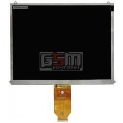 Экран (дисплей, монитор, LCD) для китайского планшета 9.7, 40 pin, с маркировкой HSD097-40pin, AFTE97I40, HSD097-021, для Assistant AP-105, EXCOMP F-TP1004, разрешением 1024*768, размер 210*164 мм