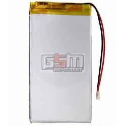 Аккумулятор для китайского планшета, универсальный (100*56*3,2 мм), (Li-ion 3.7V 2100mAh)
