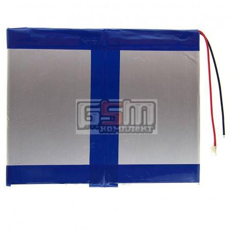 Аккумулятор для китайского планшета, универсальный (130*100*2,8 мм), (Li-ion 3.7V 4000mAh)