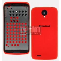 Корпус для Lenovo S820, красный