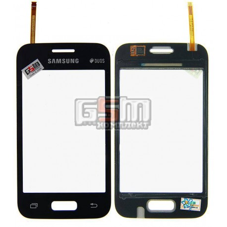 Тачскрин для Samsung G130E Galaxy Star 2 Duos, черный