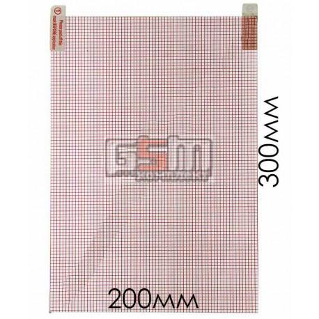 Защитная пленка для китайского планшета, телефона, универсальная, глянцевая, (300*200mm)