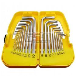 Набор ключей TORX и HEX 18 шт 35D953