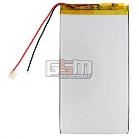 Аккумулятор для китайского планшета, универсальный (130*68*3,6 мм), (Li-ion 3.7V 4000mAh)