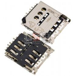 Коннектор SIM-карты для Huawei Ascend G6-U10