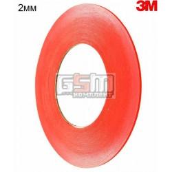 3M™ 9088FL Двухсторонний скотч VHB 2мм х 50м, толщина 0.21 мм, ширина 2мм