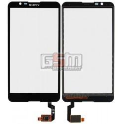 Тачскрин для Sony E2104 Xperia E4, E2105 Xperia E4, E2115 Xperia E4, E2124 Xperia E4, черный