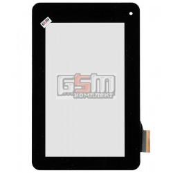 Тачскрин для планшета Acer Iconia Tab B1-710, Iconia Tab B1-711, черный, #T070GFF08 V0