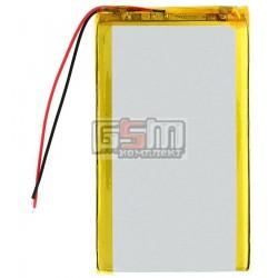 Аккумулятор для китайского планшета, универсальный (110*55*5,0 мм), (Li-ion 3.7V 3700mAh)