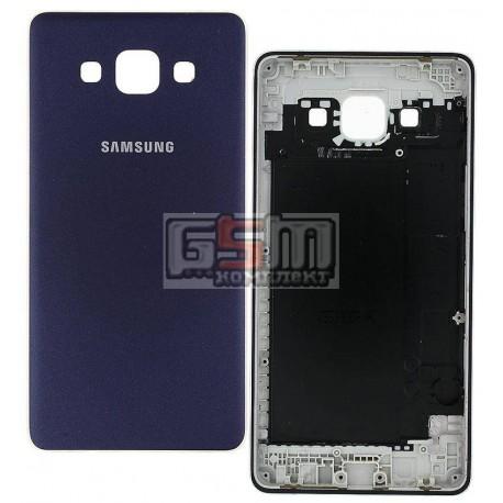 Задняя панель корпуса для Samsung A500F Galaxy A5, A500FU Galaxy A5, A500H Galaxy A5, синяя