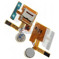 Коннектор карты памяти Samsung S8500, оригинал, с вибро