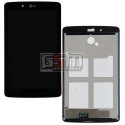 Дисплей для планшета LG G Pad 7.0 V400, черный, с сенсорным экраном (дисплейный модуль)