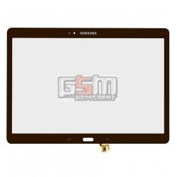 Стекло корпуса для планшета Samsung T800 Galaxy Tab S 10.5, T805 Galaxy Tab S 10.5 LTE, бронзовое