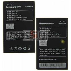 Аккумулятор (BL206) для Lenovo A600,A630,Емкость 2500мАч Li-Ion