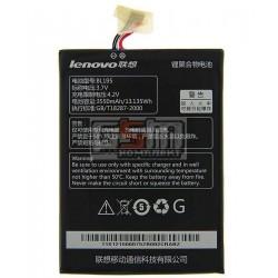 Аккумулятор (BL195) для Lenovo A2107,Емкость 3550mAh Li-Ion