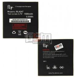 АккумуляторBL4247дляFlyIQ442Miracle,оригинал,(Li-ion3.7V1600mAh),(P104-D76000-010)