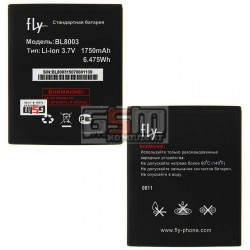Аккумулятор BL8003 для Fly IQ4491 Quad ERA Life 3, оригинал, (Li-ion 3.7V 1750mAh), (X4030F0026)