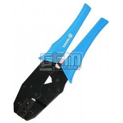 Кримпер для опресовки кабельных наконечников Vorel 45500