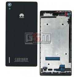 Корпус для Huawei Ascend P7, черный