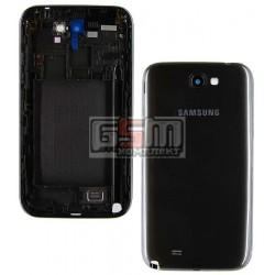 Корпус для Samsung N7100 Note 2, сірий