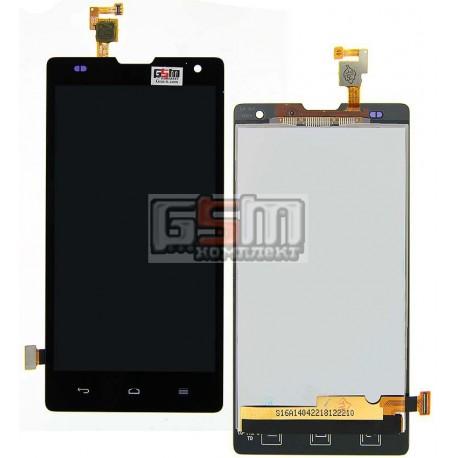 Дисплей для Huawei Honor 3C H30-U10, черный, с сенсорным экраном (дисплейный модуль)