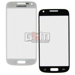 Стекло корпуса для Samsung I9190 Galaxy S4 mini, I9192 Galaxy S4 Mini Duos, I9195 Galaxy S4 mini, белое