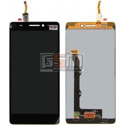 Дисплей для Lenovo A7000, черный, с сенсорным экраном (дисплейный модуль), (720 ? 1080), #055-1911-02/1540312483/YT55F60B0-FPC-C