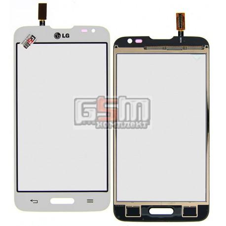 Тачскрін для LG D320 Optimus L70, D321 Optimus L70, MS323 Optimus L70, білий