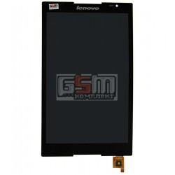 Дисплей для планшета Lenovo S8-50F, черный, с сенсорным экраном (дисплейный модуль)