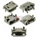 Коннектор зарядки для Blackberry 9100, 9105, 5 pin, micro-USB тип-B