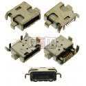 Коннектор зарядки для Sony Ericsson LT30p Xperia T; Sony MT27i Xperia Sola, 5 pin, micro-USB тип-B