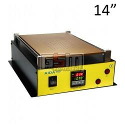Сепаратор для расклеивания дисплейного модуля 918D 14 дюймов (30 x 20 см) встроенный компрессор