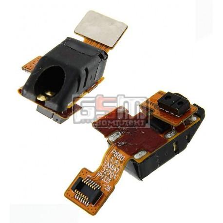 Коннектор handsfree для LG P880 Optimus 4X HD, со шлейфом