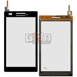 Тачскрин для планшета Lenovo Tab 2 A7-10, Tab 2 A7-20F, черный, #131741E1V1. 6