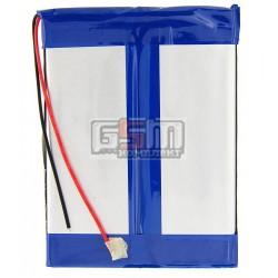 Аккумулятор для китайского планшета, универсальный (96*72*5,6 мм), (Li-ion 7.4V 2500mAh)