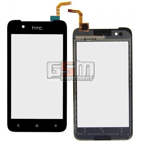 Тачскрин для HTC Desire 210 Dual Sim, черный