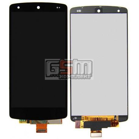 Дисплей для LG D820 Nexus 5 Google, D821 Nexus 5 Google, черный, original (PRC), с сенсорным экраном (дисплейный модуль)
