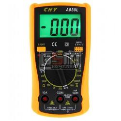 Мультиметр A830L с подсветкой дисплея