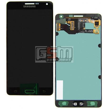Дисплей для Samsung A700F Galaxy A7, A700H Galaxy A7, синий, с сенсорным экраном (дисплейный модуль)