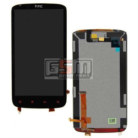 Дисплей для HTC G18, Z715e Sensation XE, с сенсорным экраном (дисплейный модуль)