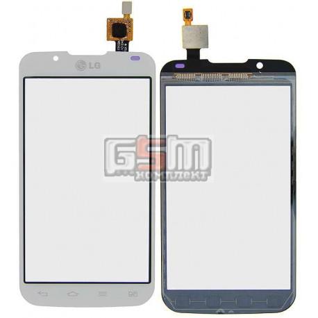 Тачскрін для LG P715 Optimus L7 II, білий